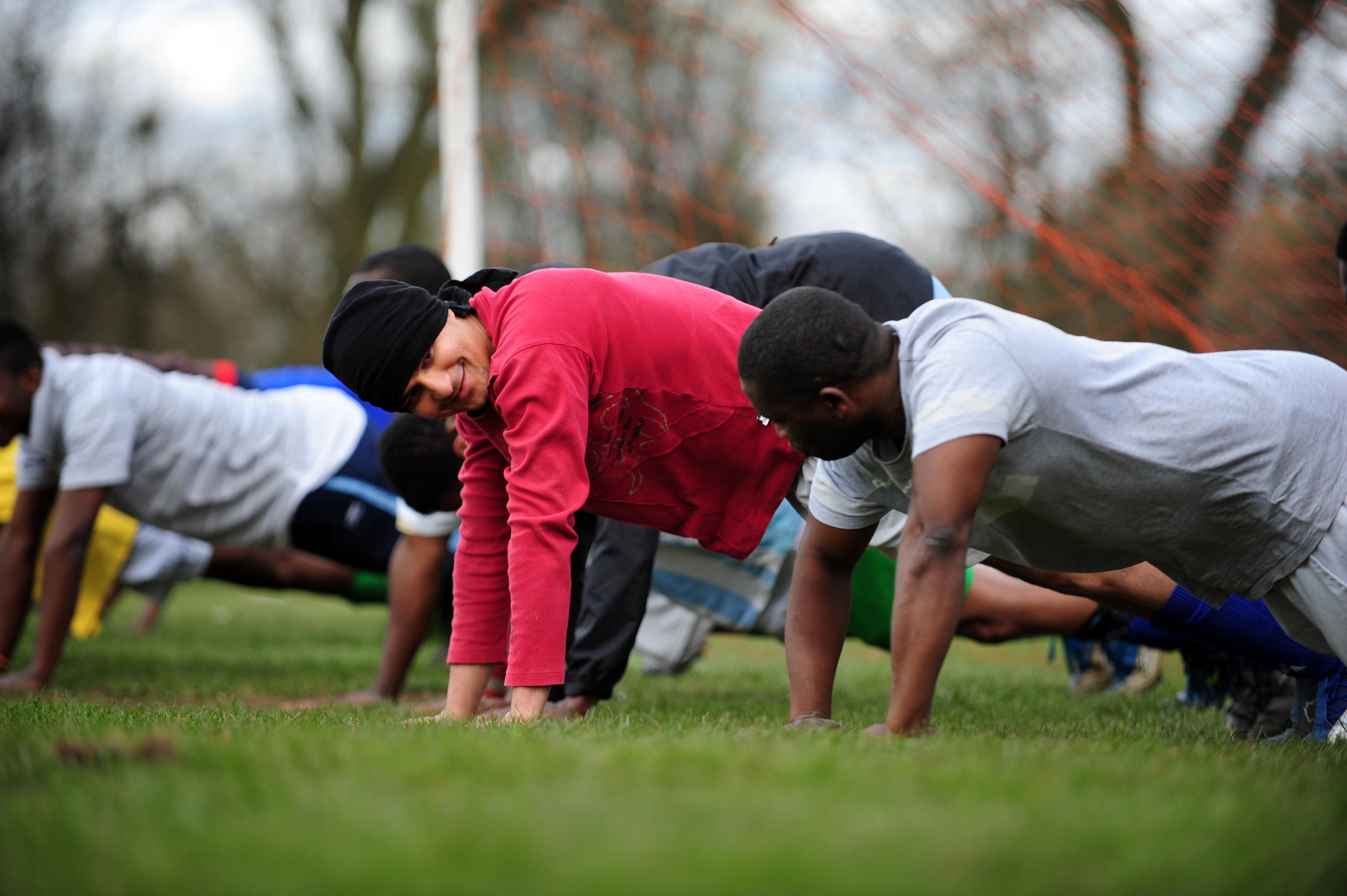 football fitness tips