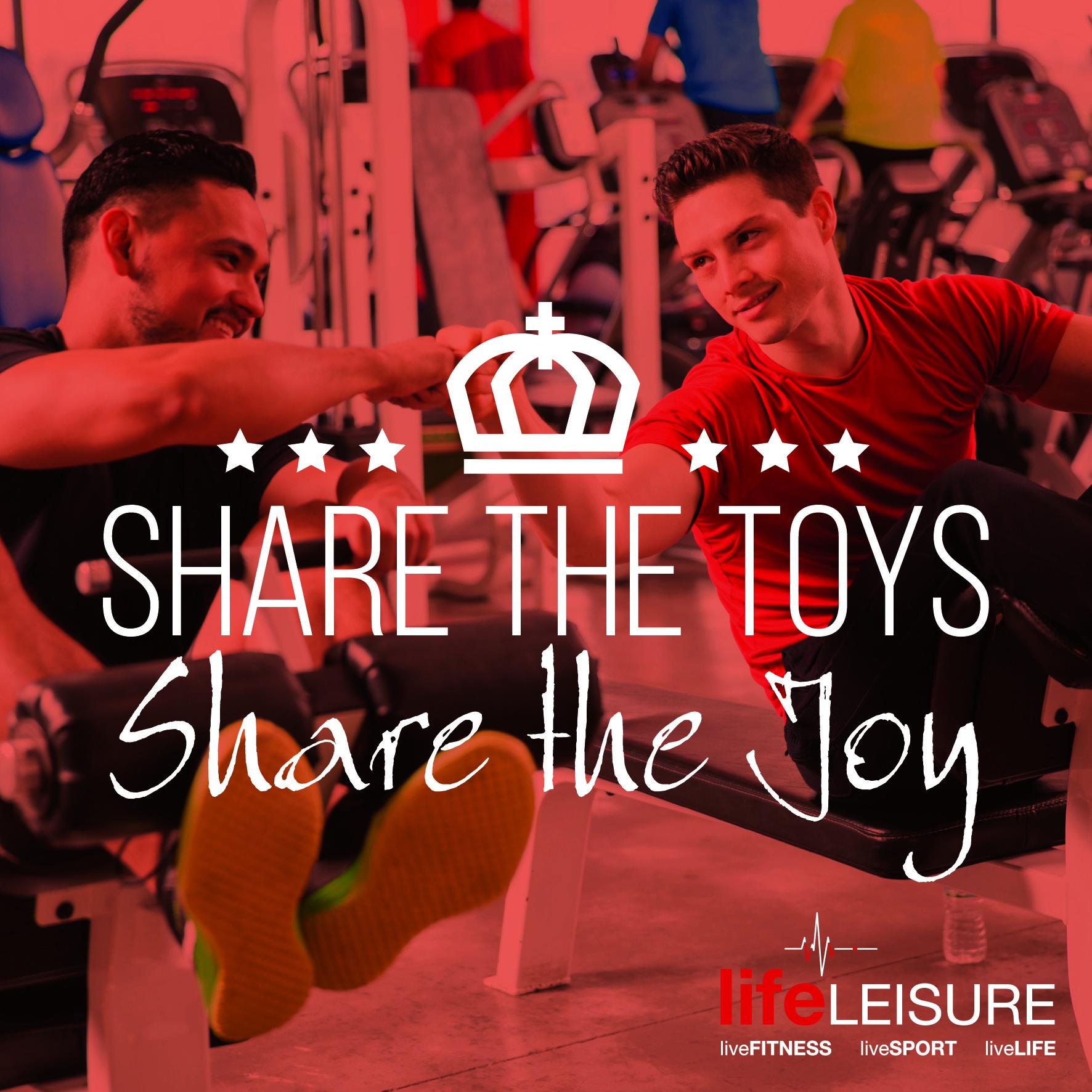 Gym Etiquette, Share