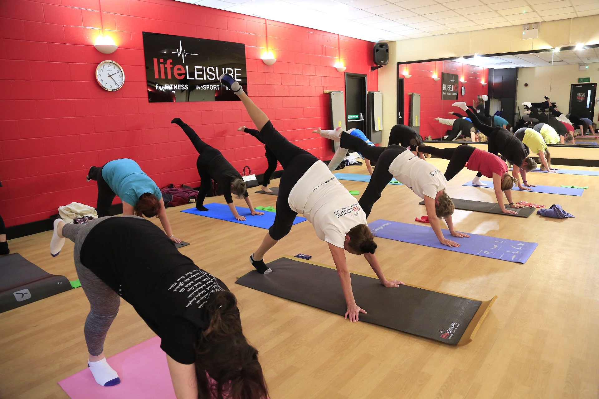 Pilates Class at Life Leisure Avondale