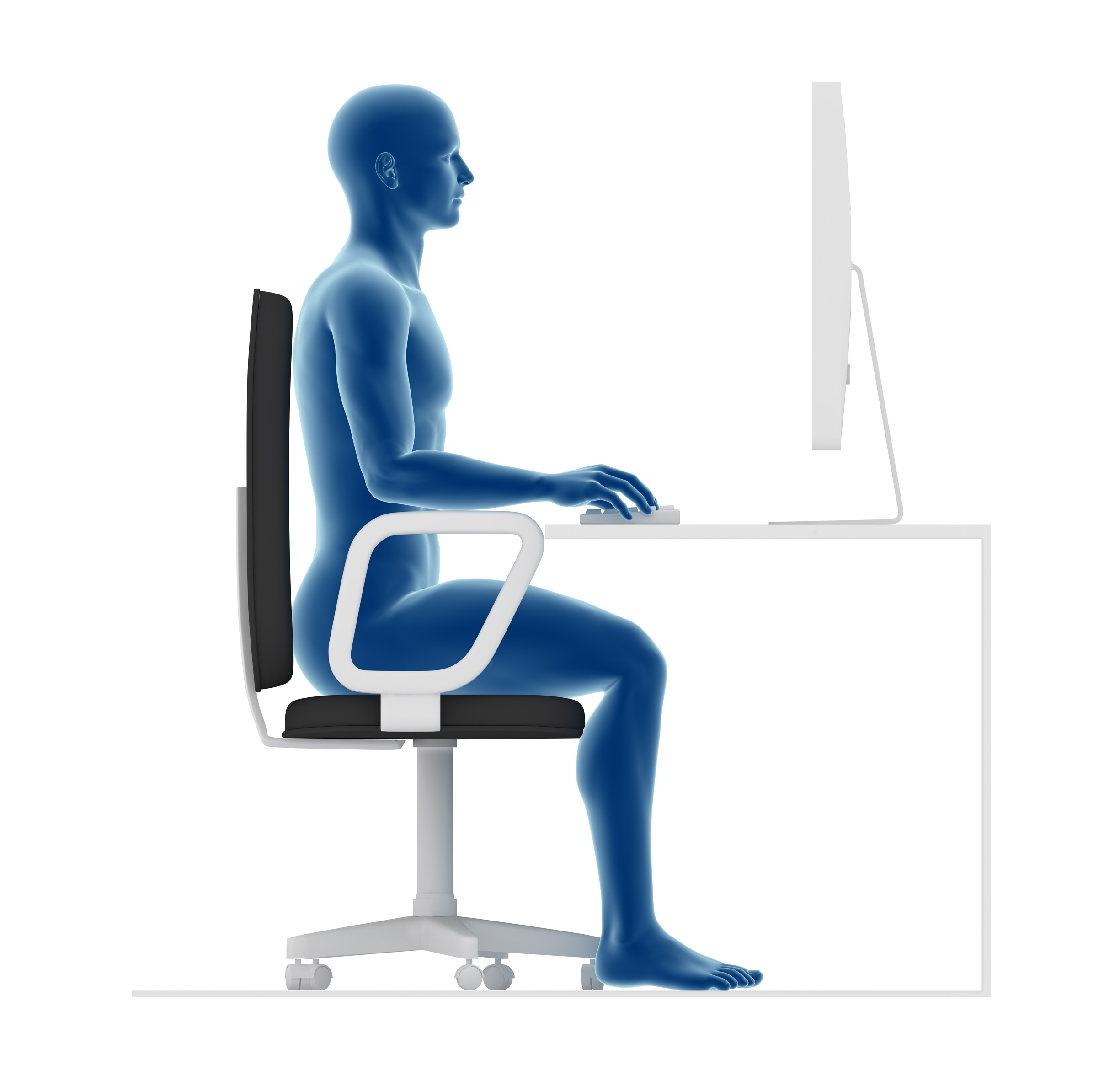 The 3 main reasons why you should sit properly at work 3