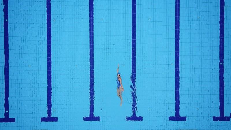 Swim and you're winning blog