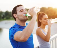 The importance of drinking water before, during and after exercise 1