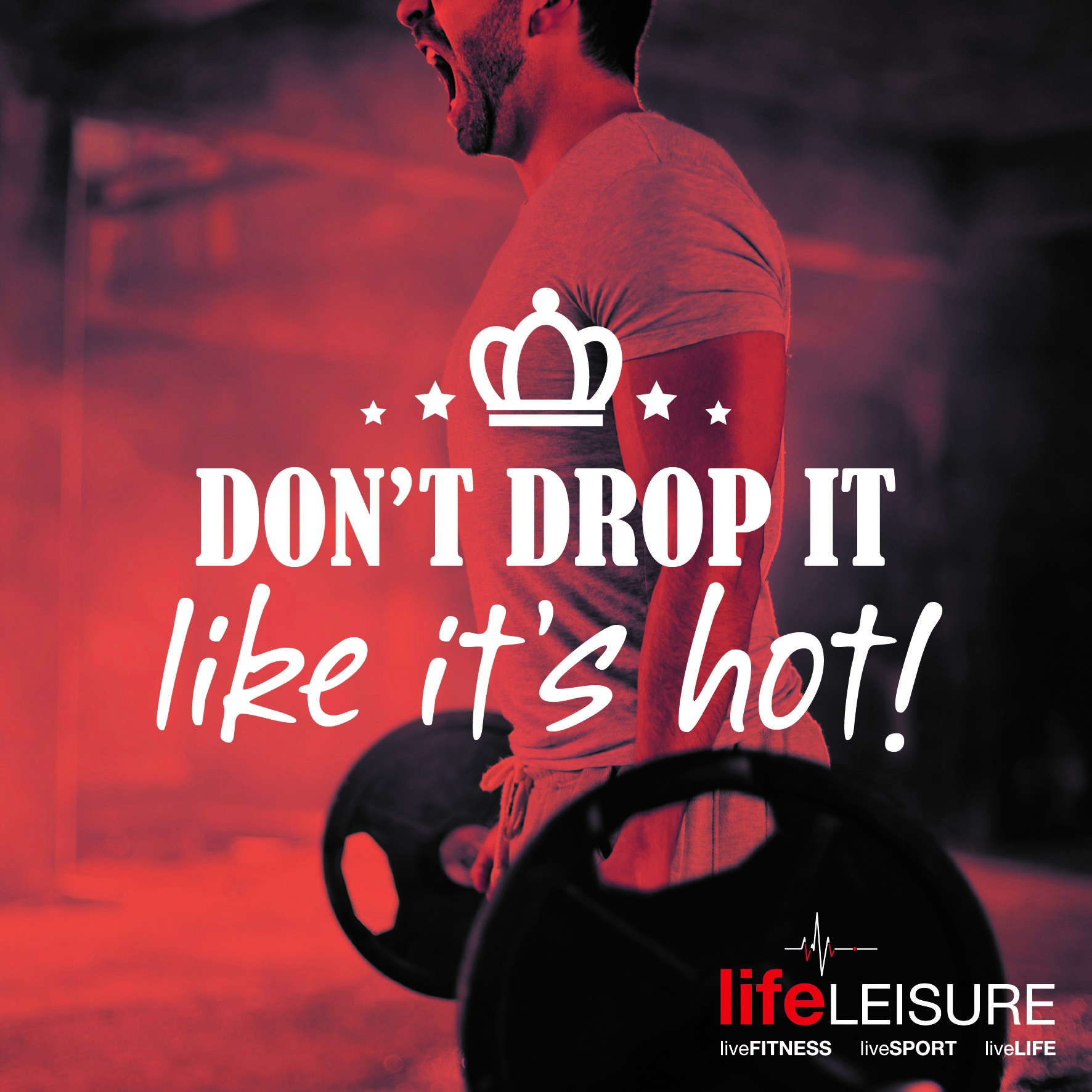 Gym Etiquette, dont drop it like its hot